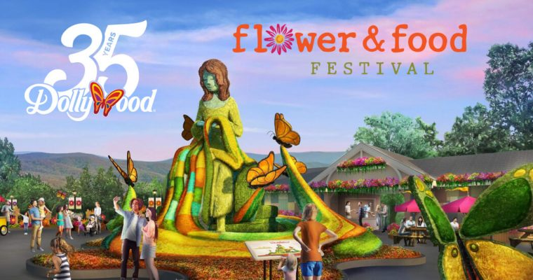 Dollywood Opens With Flower & Food Festival For 2020