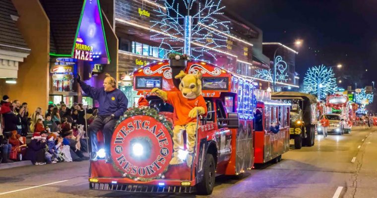 Gatlinburg Fantasy of Lights Christmas Parade 2020